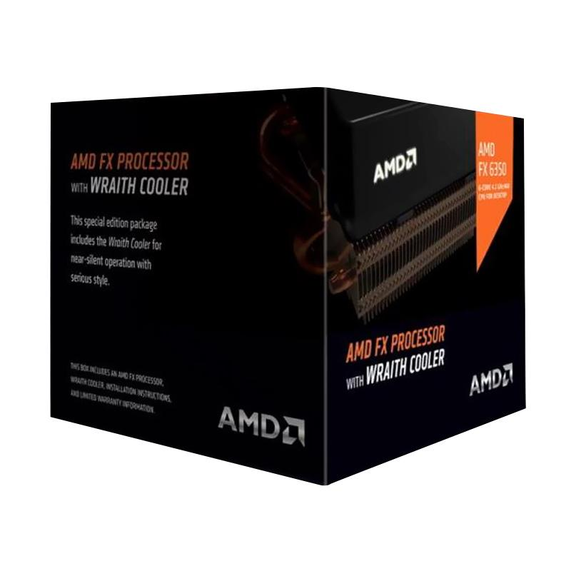 AMD FX6350 with AMD Wraith Cooler Processor