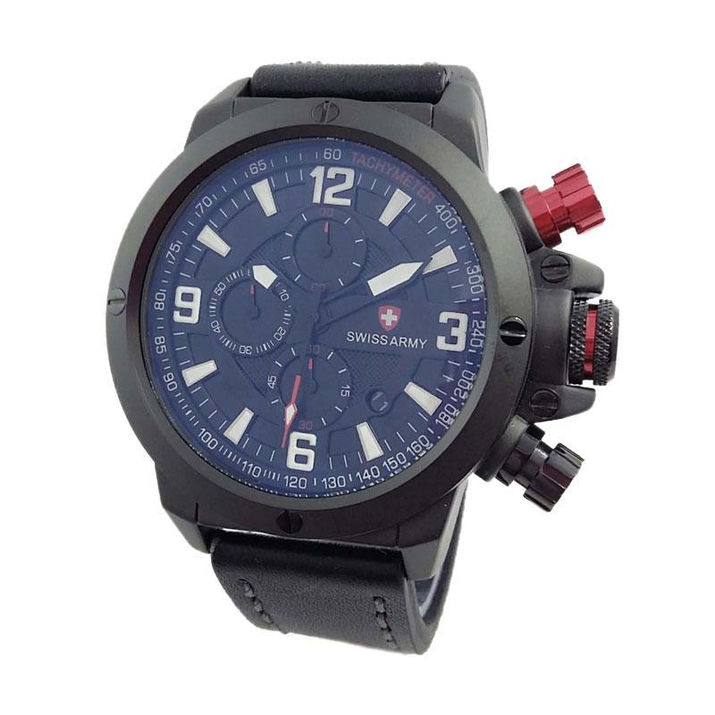 Swiss Army SA 6684 BR Jam Tangan Pria - Black