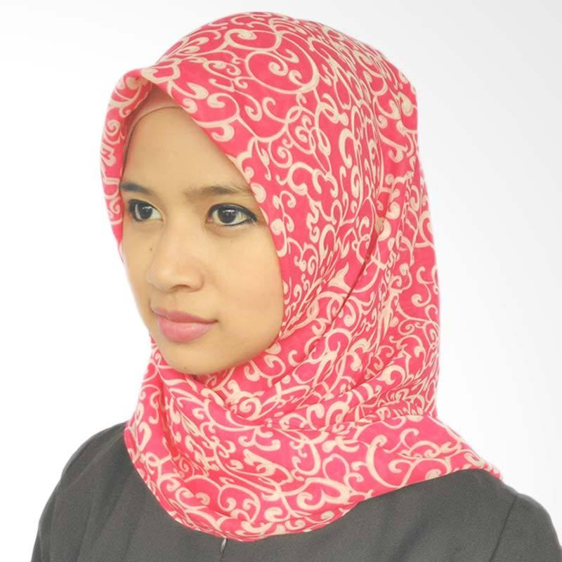LeeCuini Scarf Lee Abstrak Hijab - Red