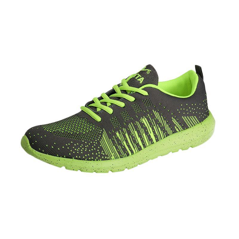 KETA 181 Sepatu Lari - Grey Green