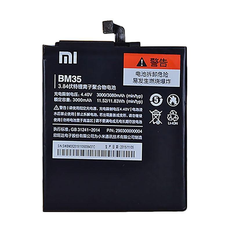 Xiaomi BM35 Battery for Xiaomi Mi 4C - Hitam [3080 mAh]