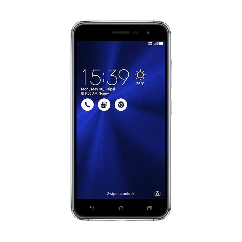 Asus Zenfone 3 ZE520KL Smartphone - Black [32 GB/3 GB]