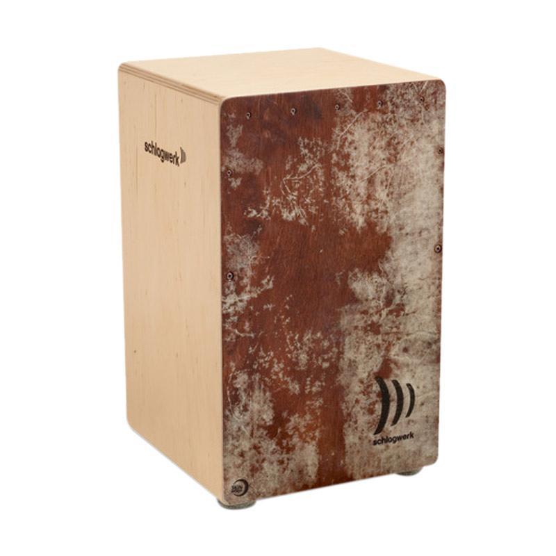harga Schlagwerk La Peru Skinwood Cajon - Red Blibli.com