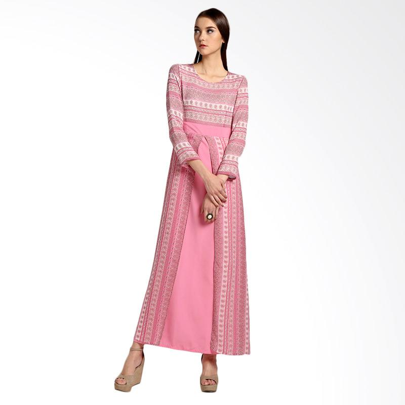 Bateeq 14-051 Dress Muslim -Pink