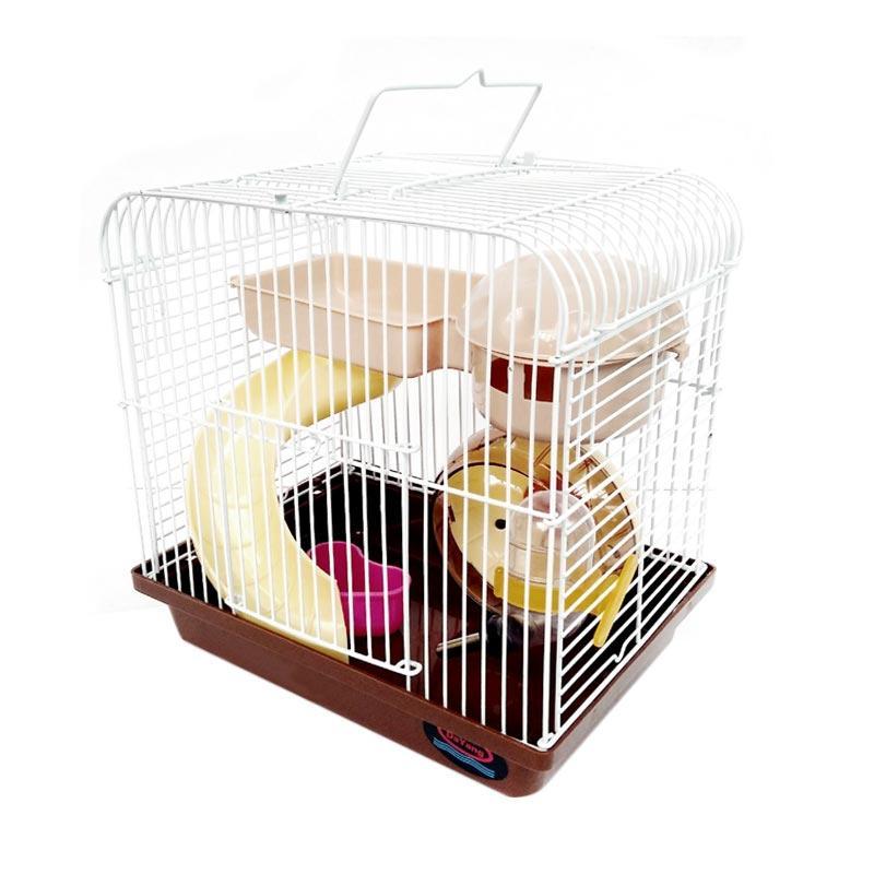 harga WYD K02 Kandang Hamster - Coklat Blibli.com