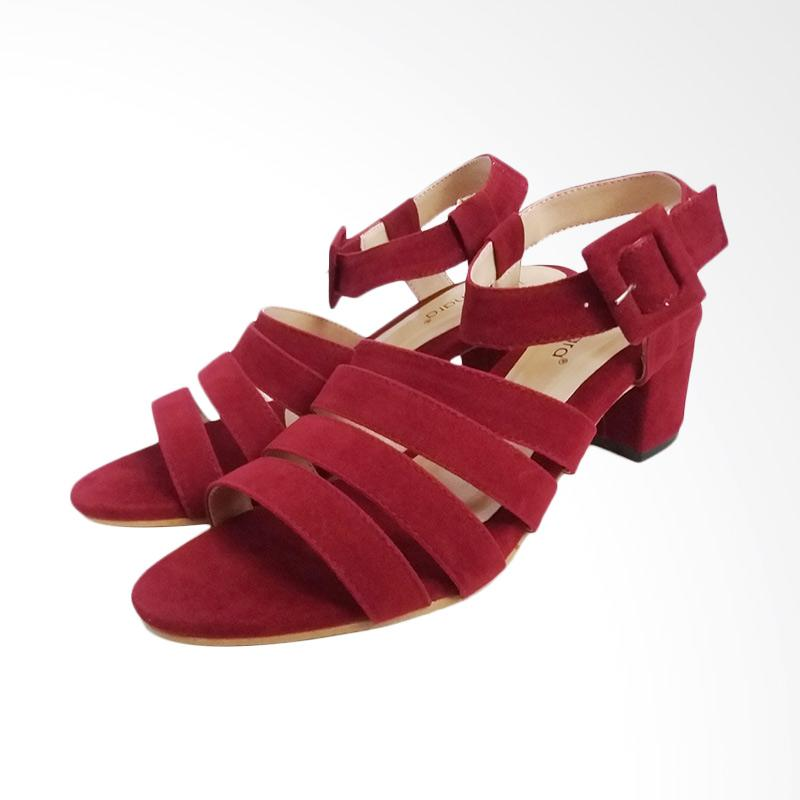 Tamanara Audy Sepatu Wanita - Maroon