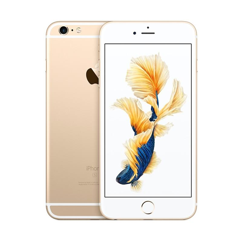 harga Apple iPhone 6S Plus 16 GB Smartphone - Gold Free speaker bluetooth Blibli.com