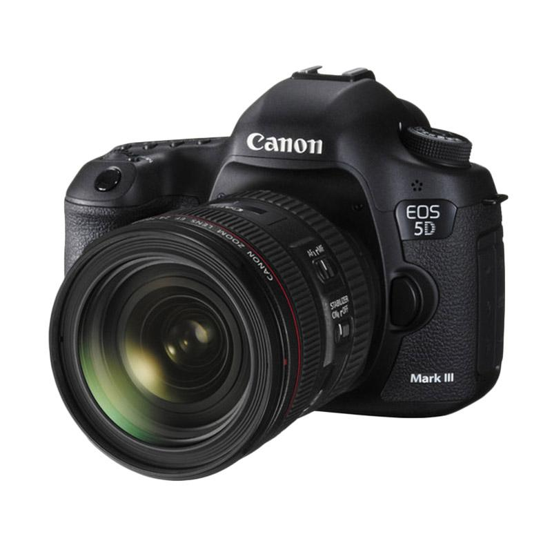 Canon EOS 5D Mark III Kit 24-70mm Kamera DSLR - Black