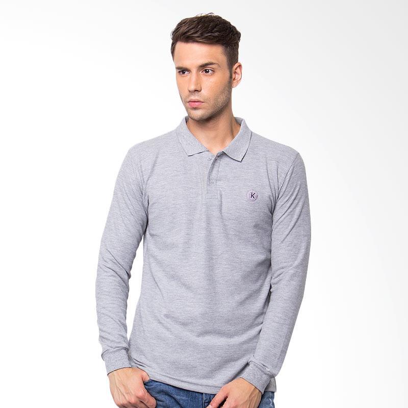 KOMO Based Polo Shirt - Grey Extra diskon 7% setiap hari Extra diskon 5% setiap hari Citibank – lebih hemat 10%