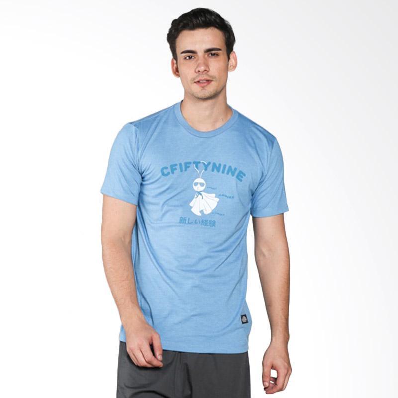 C59 Terubozu T-Shirt Pria - Blue Extra diskon 7% setiap hari Extra diskon 5% setiap hari Citibank – lebih hemat 10%