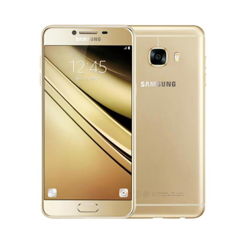 harga Samsung Galaxy C5 Smartphone - Gold [64GB/4GB] Blibli.com