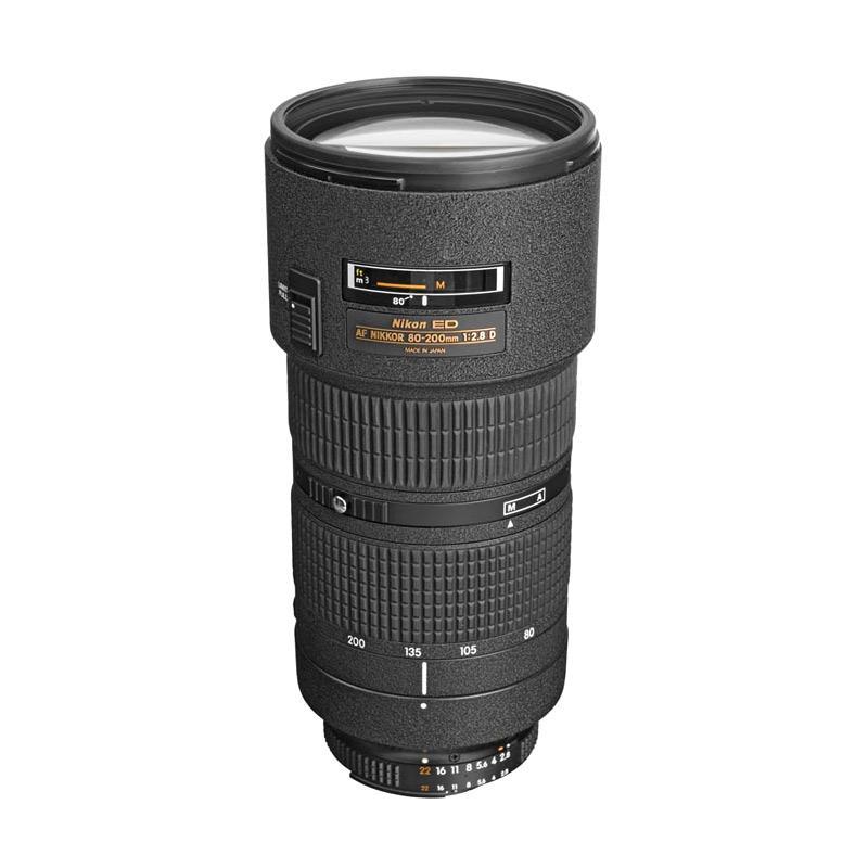 Nikon AF 80-200mm f-2.8D ED Lensa Kamera RESMI PT ALTA NIKINDO