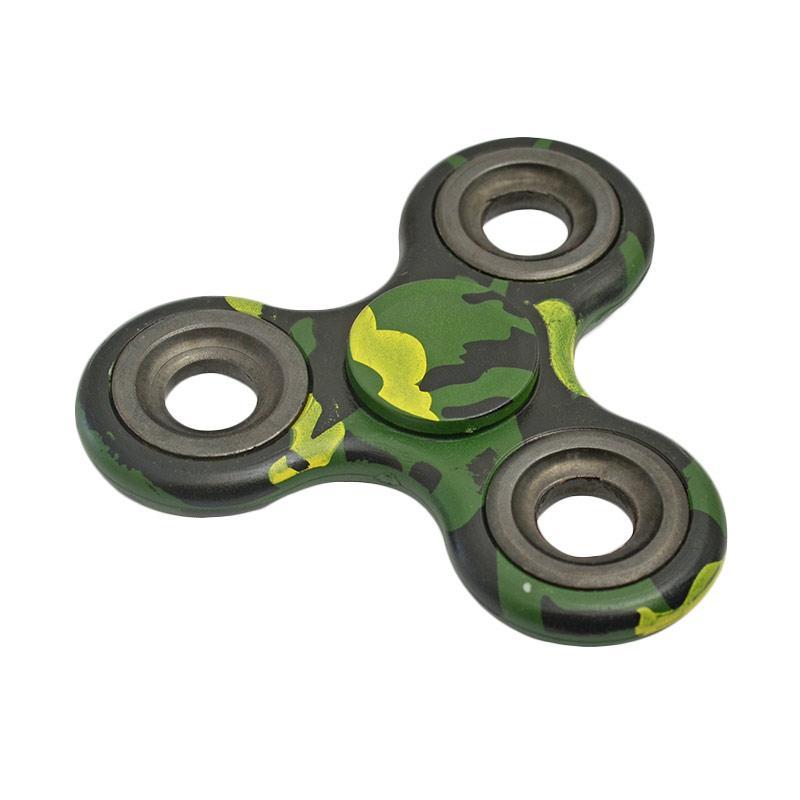 OEM SP001GR  Hand Spinner Mainan Edukasi - Green Army