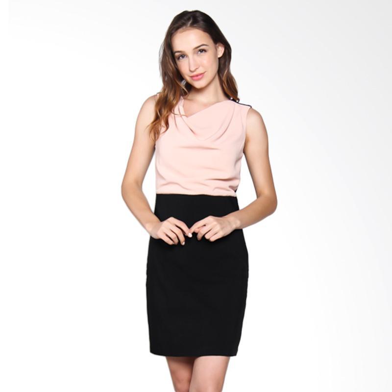 Carte Block Blush Dress - Black