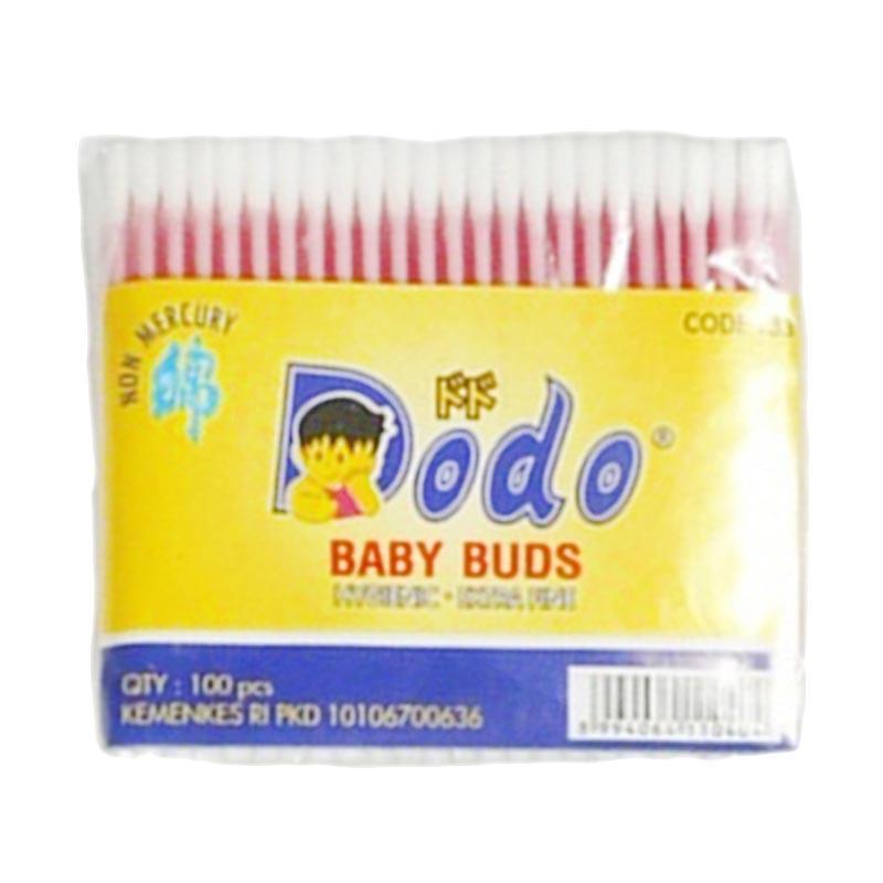 DODO Cotton Bud Baby - Pink [100 pcs]