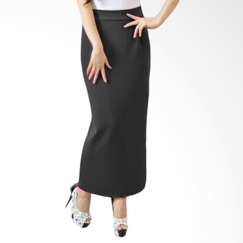 harga Rok wanita Span Wedges Rok - Black Blibli.com