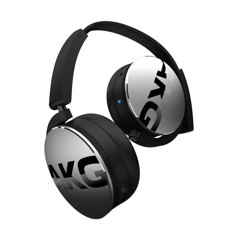 AKG Y50 BT On Ear Headphone - Silver