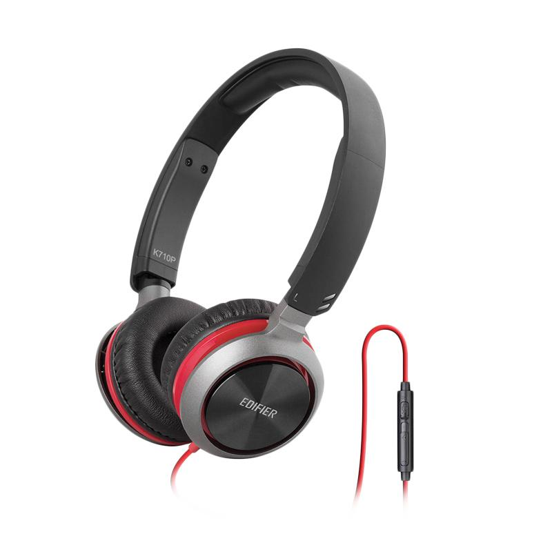Edifier M710 Headset with Mic - Red