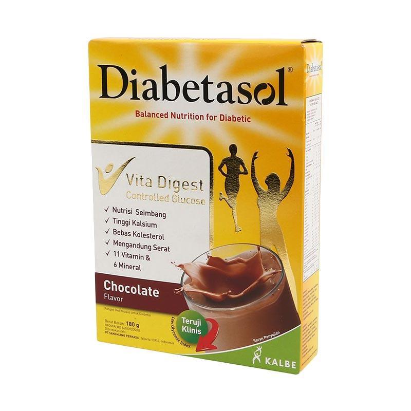 Kalbe Diabetasol Susu - Cokelat [180 g]