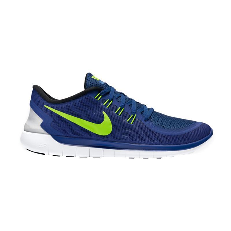 Nike Free 5.0 Sepatu Lari - Biru 724382-407