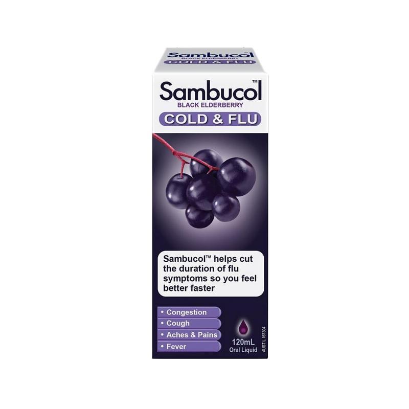 Sambucol Cold & Flu AUS [120 mL]