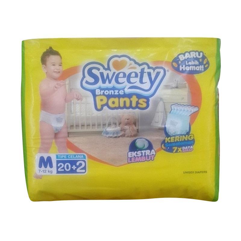 Sweety Bronze Pants Popok Bayi [Size M]
