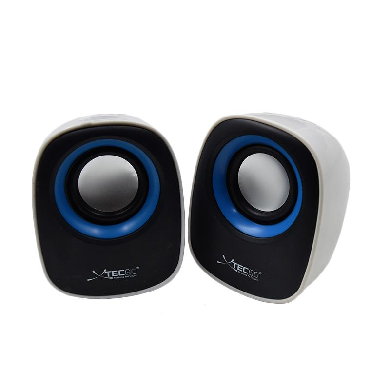 XTECGO F-5 USB Speaker - Biru