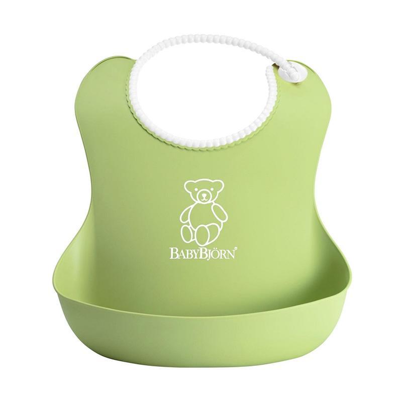Baby BJorn Soft Bib Celemek Bayi - Green