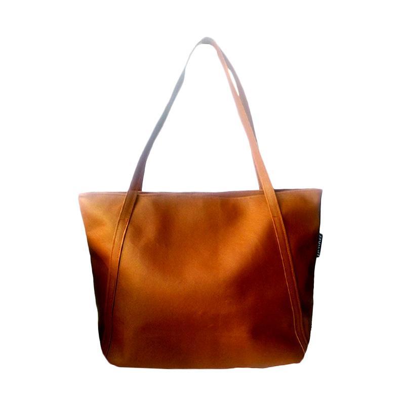 Donker Basic Tote Bag - Brown