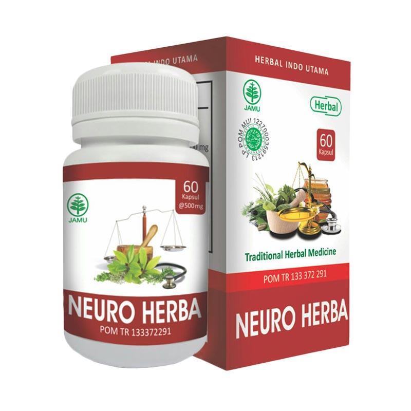HIU Neuro Obat Herbal Untuk Stroke