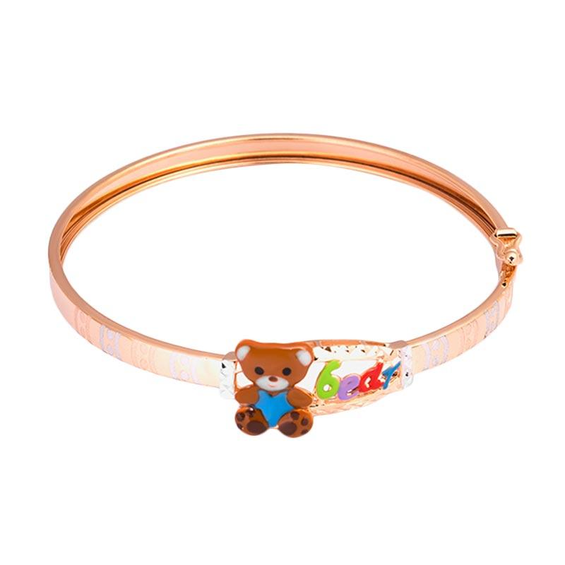 Gold Kids Bangle - Gelang Emas Anak Kadar 37,5-WHIZLIZ