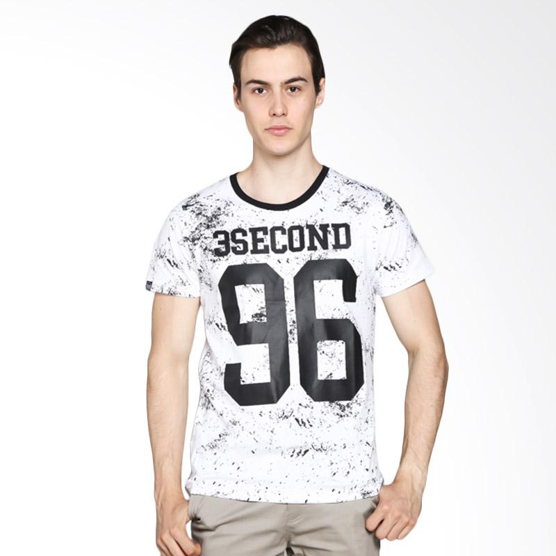 3 Second 163031712 Men Tshirt - White