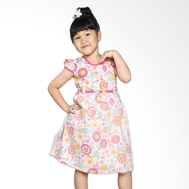 4 You Tile Dress Anak - Fuschia
