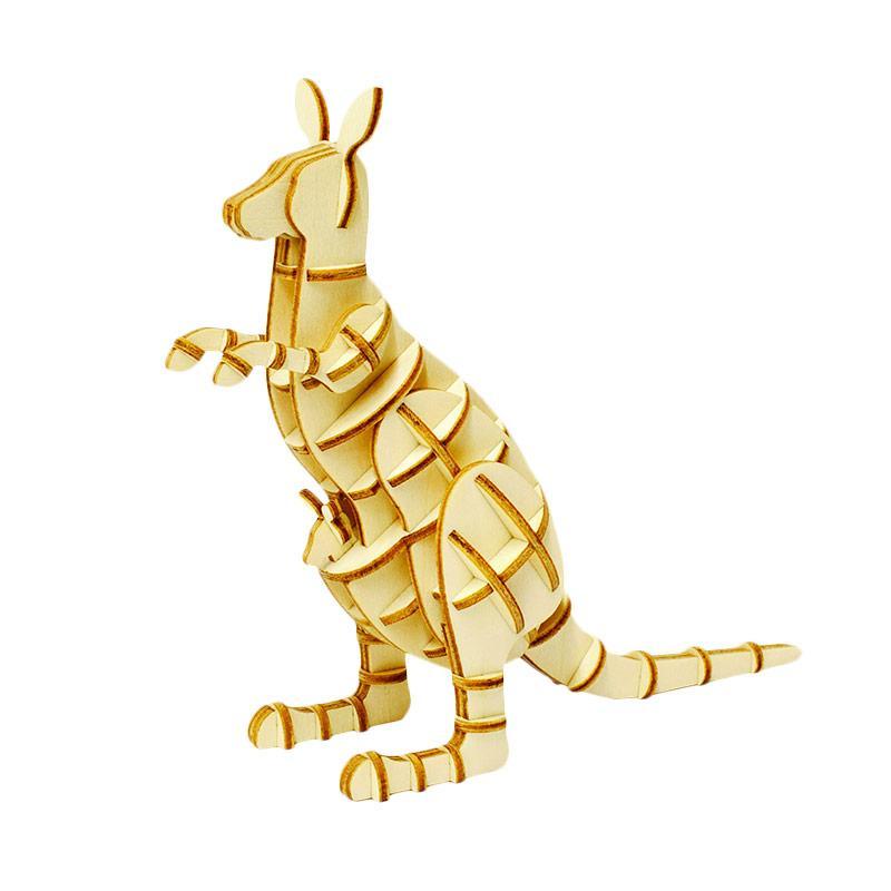 Kigumi Kangaroo 3D Puzzle