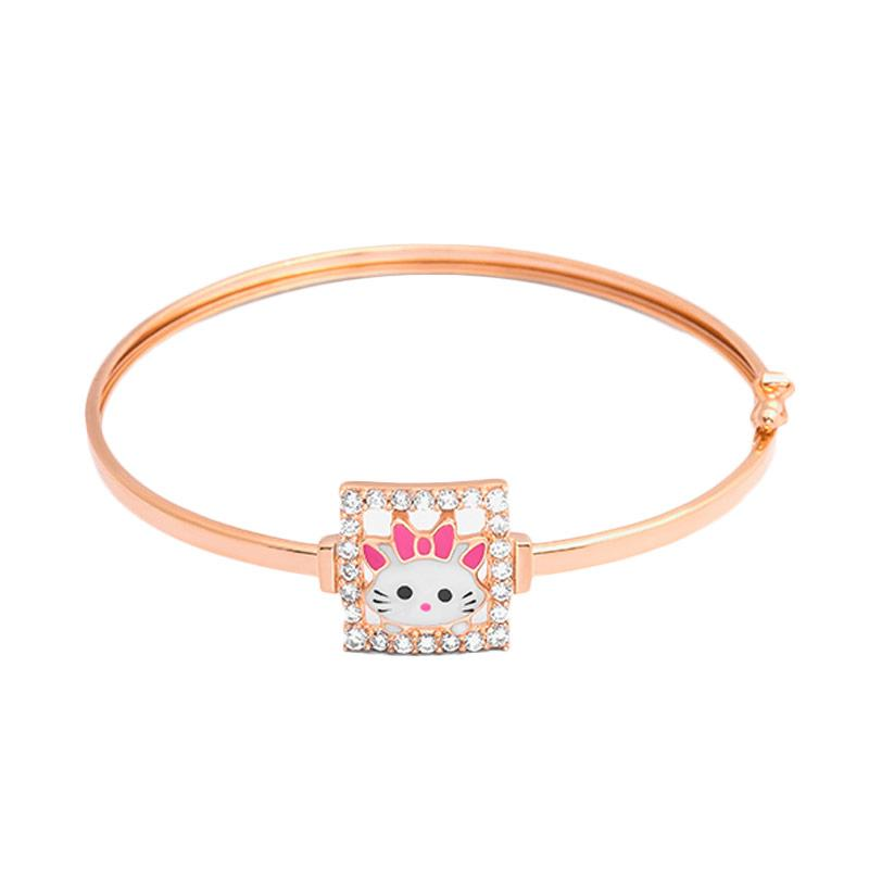 Gold Kids Bangle - Gelang Emas Anak Kadar 37,5