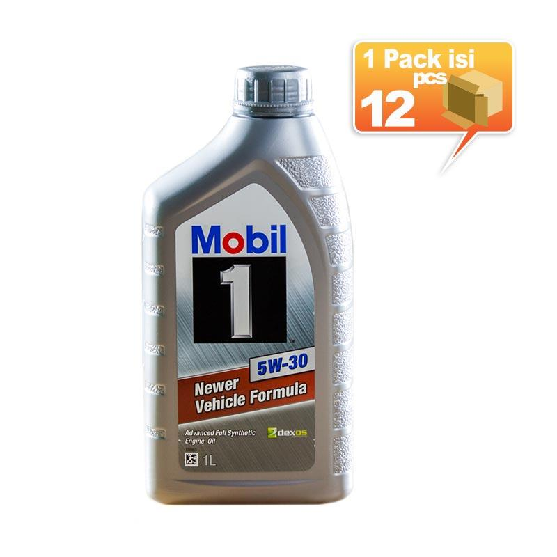 Paket Karton - Mobil 1 5W-30 Botol