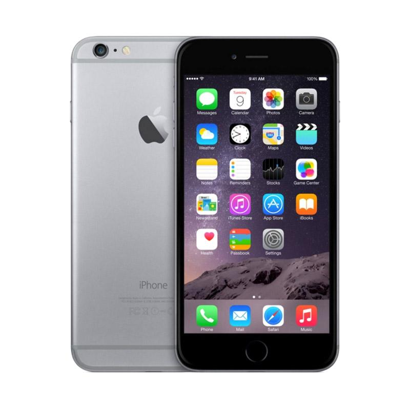 harga Apple iPhone 6S Plus 16 GB Smartphone - Grey [Refurbish] + Speaker Bluetooth Blibli.com