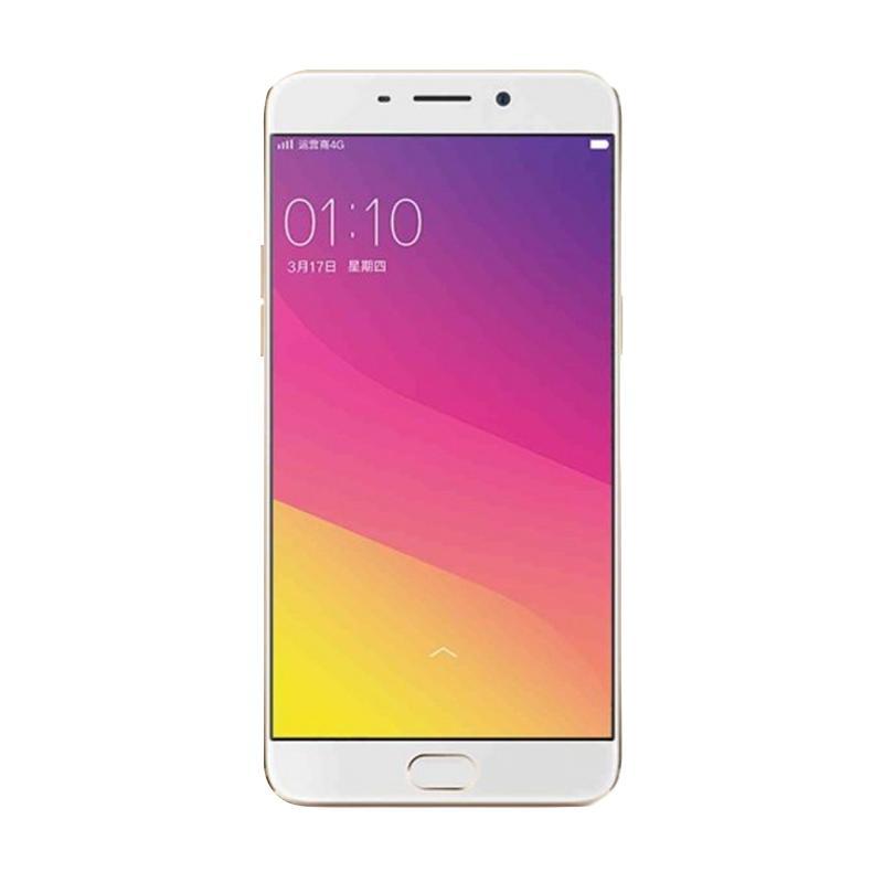 harga OPPO A37 Smartphone - Gold [2 GB/16 GB] Free Speaker Mini Bluetooth Blibli.com