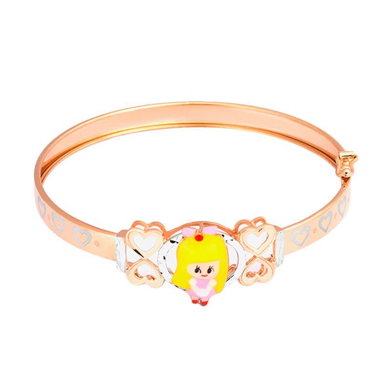Doll Gold Kids Bangle - Gelang Emas Anak Kadar 37,5