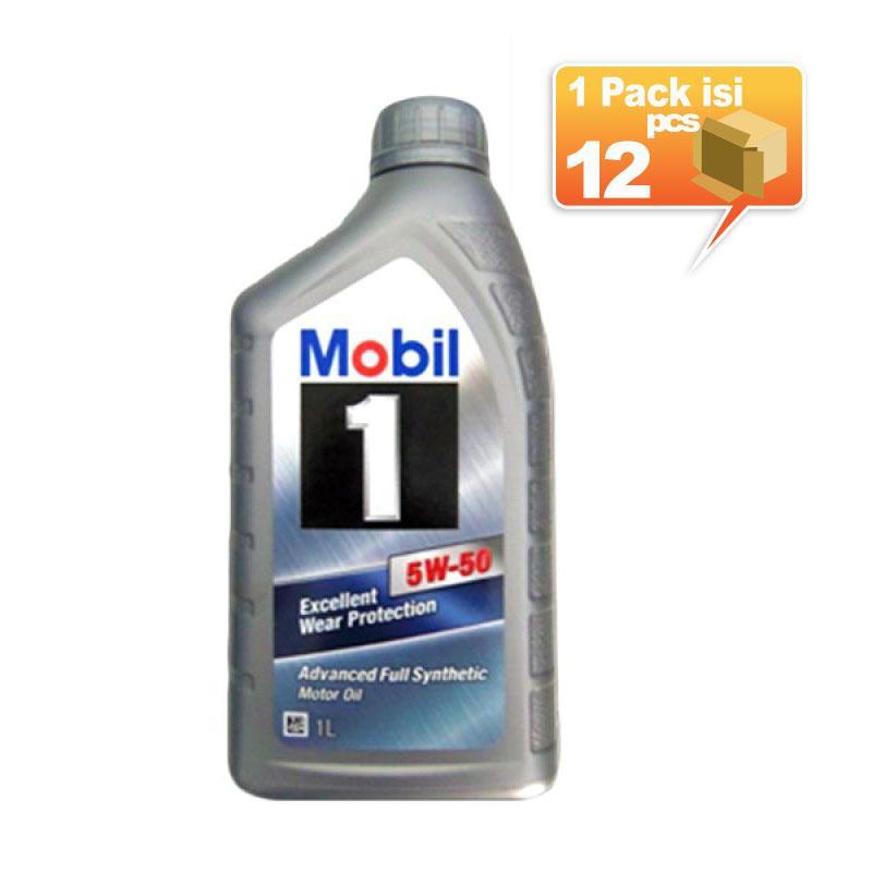 Paket Karton - Mobil 1 5W-50 Botol