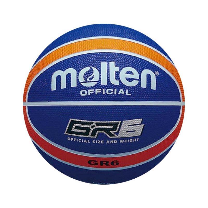 Molten GR 6 Bola Basket - Biru