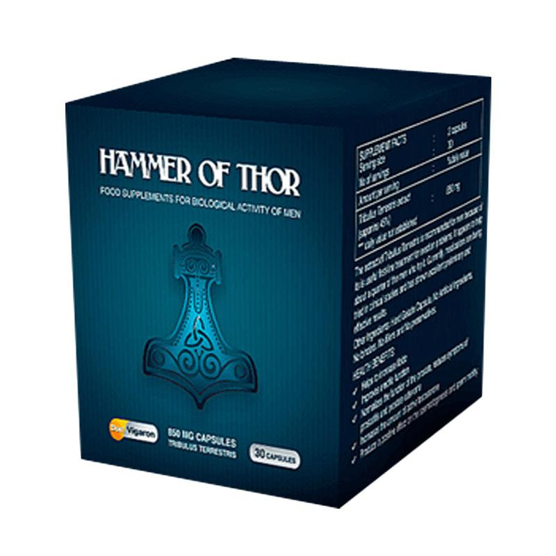 Hammer Of Thor Original 850 Mg[Forex] Obat Pembesar Penis Herbal