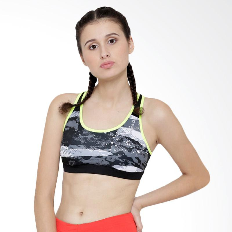 Reebok P1 AX9893 Short Bra Baju Olahraga Wanita