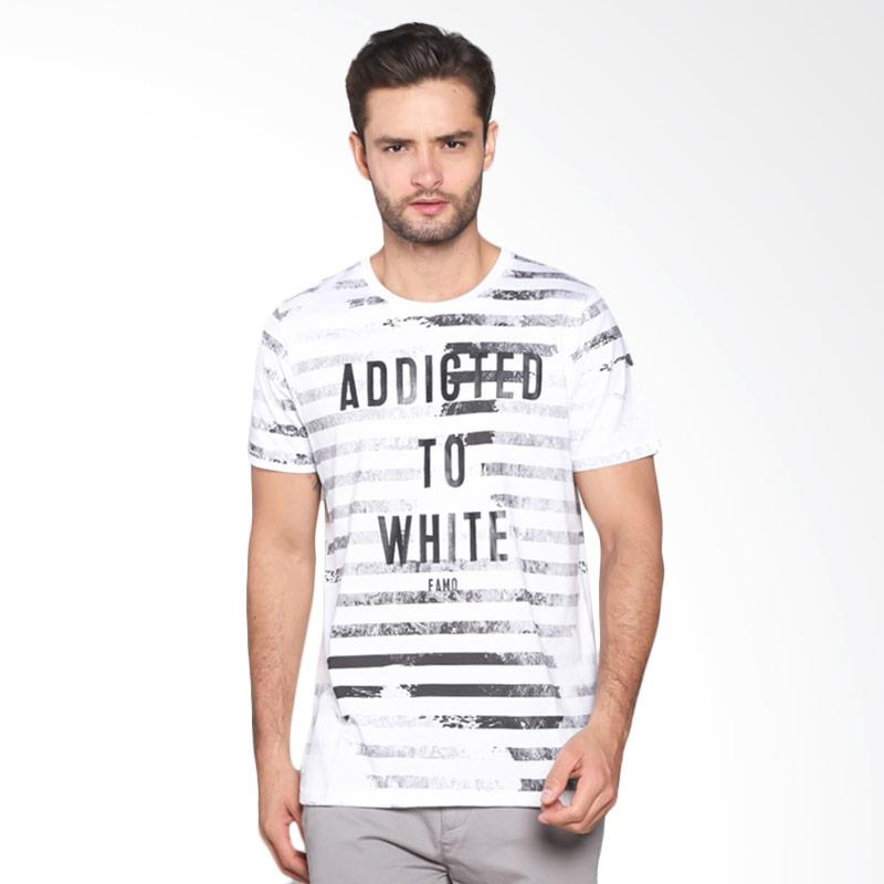 Famo Casual Relaxed Tee 524041712 - White