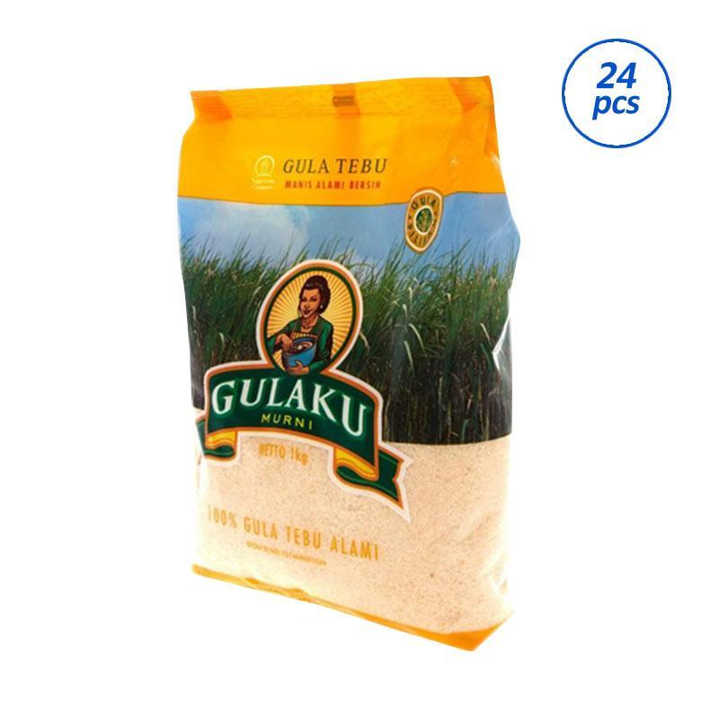 Gulaku Tebu - Kuning [1 kg/24 Pcs]