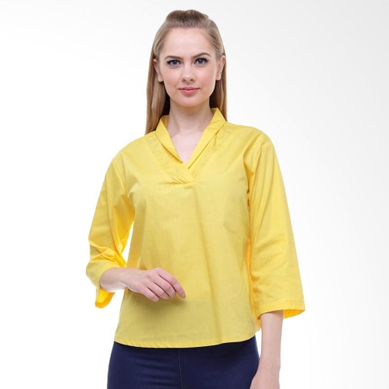 Noya Blouse Wanita - Yellow
