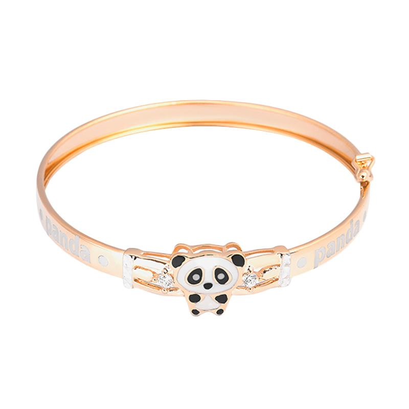 Panda Gold Kids Bangle - Gelang Emas Anak Kadar 37,5