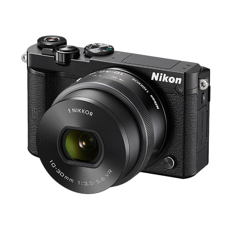 Nikon 1 J5 Kit 10-30mm Kamera Mirrorless - Black [20.8 MP]