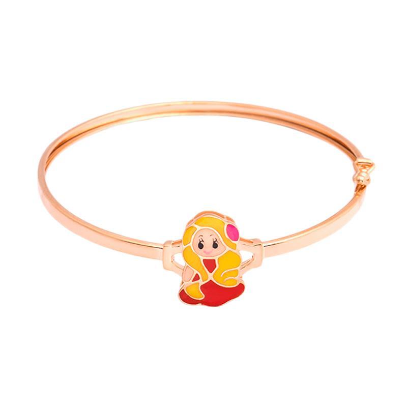 Kids Gold Bangle - Gelang Anak Emas Kadar 37.5