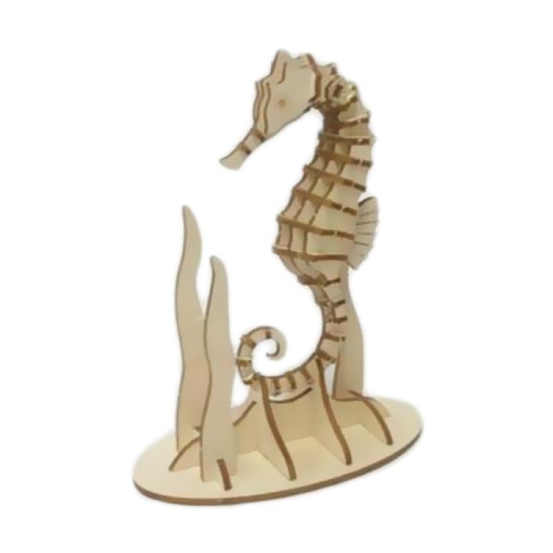 Kigumi Seahorse 3D Puzzle